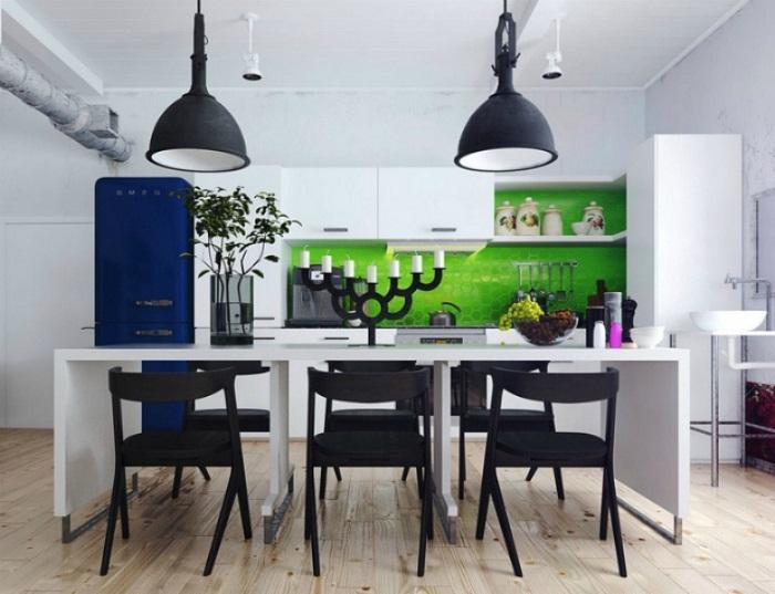 Яркое решение для преображения кухни, что вдохновит по-максимуму и очарует.