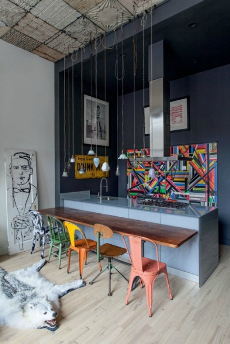 Стильная и современная кухня в стиле хай-тек, что преобразит интерьер любой квартиры.
