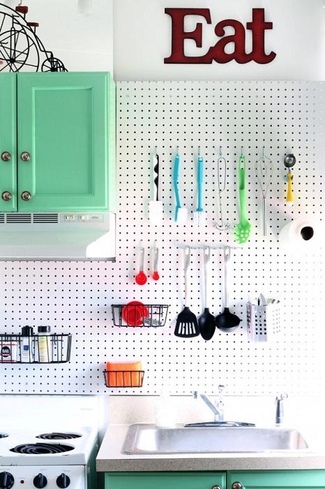 Что может быть лучше оригинального оформления любой кухни.