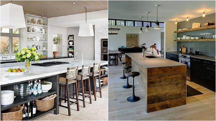 Интересные кухонные проекты, которые порадуют глаз.