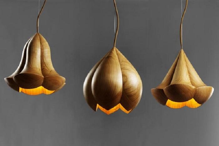 Симпатичные дизайнерские светильники непременно сделают освещение в комнате прекрасным и утонченным.