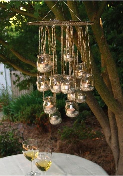 Подвесные фонарики – которые отлично впишутся в любой прекрасный сад и непременно порадуют глаз.