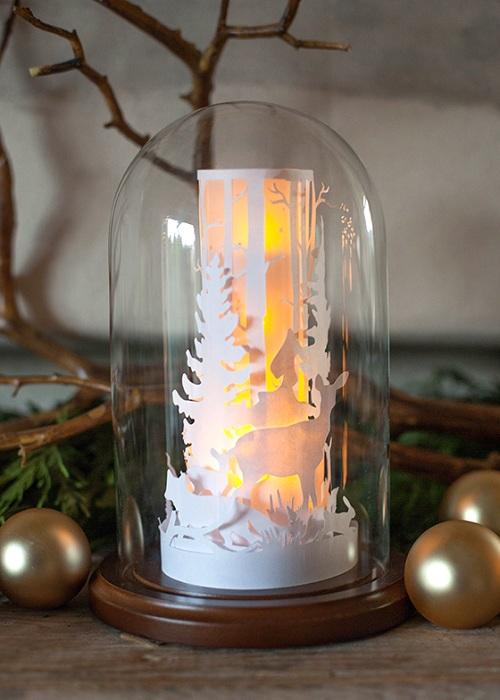 Интересный вариант декора фонарика своими руками, то что придется по душе любителям рукоделия.