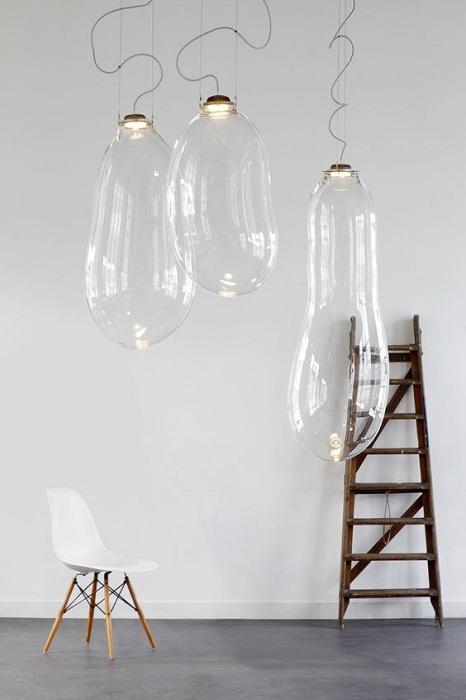 Крутое решение для декорирования плафонов, которые выглядят вовсе необыкновенно и станут отличным дизайнерским решением.
