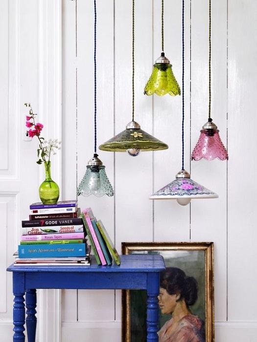 Отличные и необыкновенные светильники, что создадут очень крутую обстановку.
