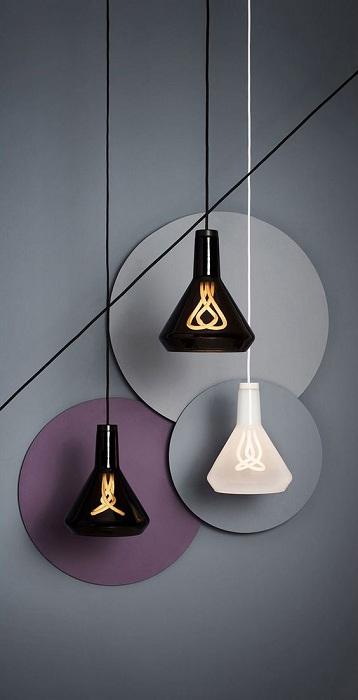 Очень крутые светильники, которые создадут очаровательный интерьер в любой из комнат.