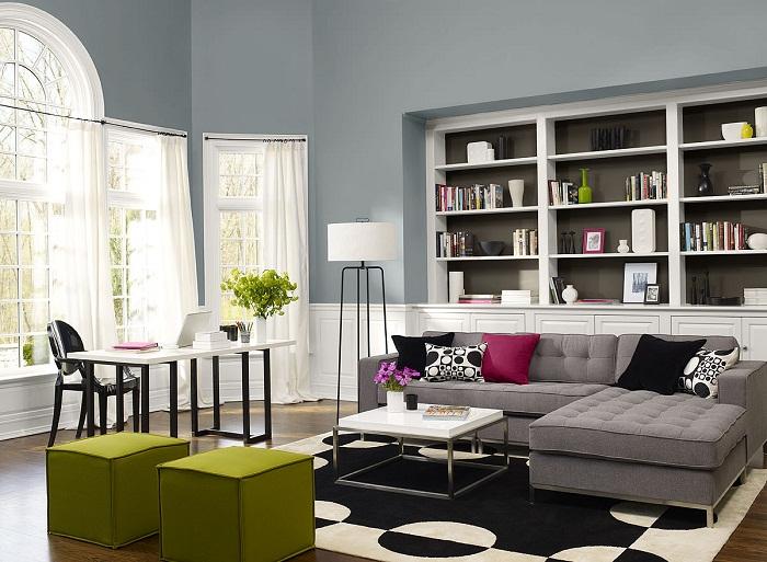 Отличный интерьер гостиной станет просто изюминкой любой квартиры, дома.
