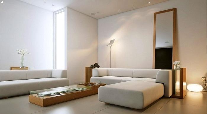 Отличное решение создать хорошее настроение при помощи современного дизайна комнаты.
