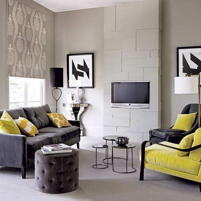 Интересное и очень симпатичное решение создать отменный интерьер в любой из комнат.