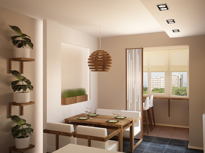 Дизайн совмещение лоджии с комнатой