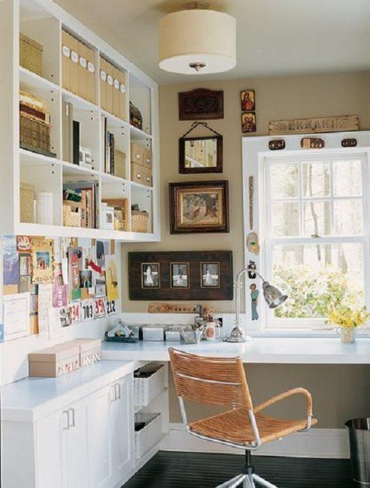 Создание комфортной атмосферы в домашнем мини-офисе, что позволит максимально самоорганизоваться.
