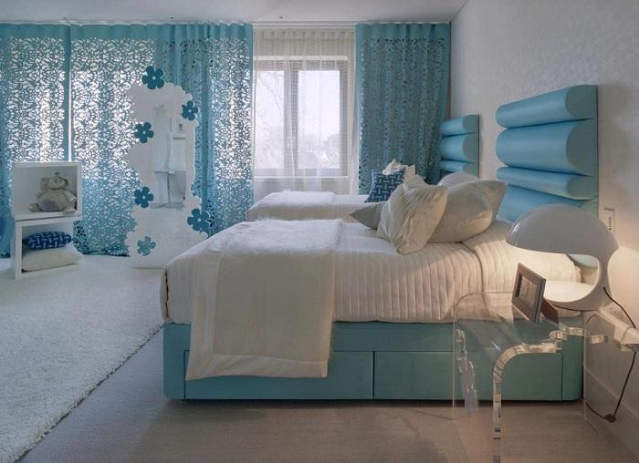 Простота и нежность, что может быть еще оптимальней при оформлении интересного дизайна комнаты для отдыха.