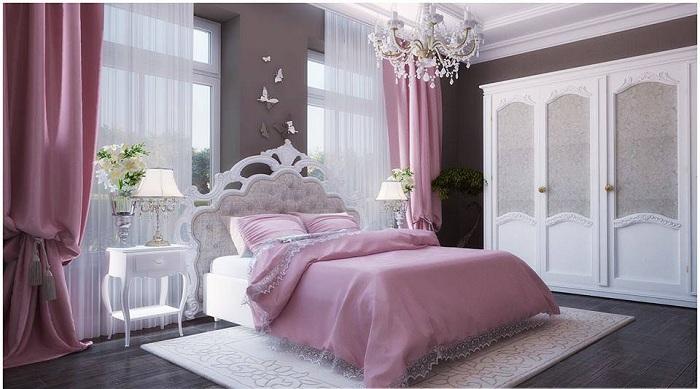 Сказочная мечта и особенное настроение в спальной станут просто самыми лучшими товарищами при оформлении такого интересного и простого места для отдыха.