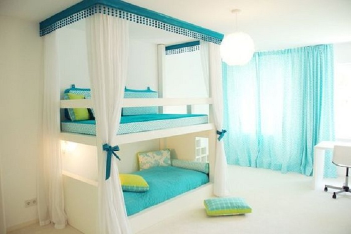 Преображение комнаты благодаря нежным и светлым оттенкам, что определенно понравятся.
