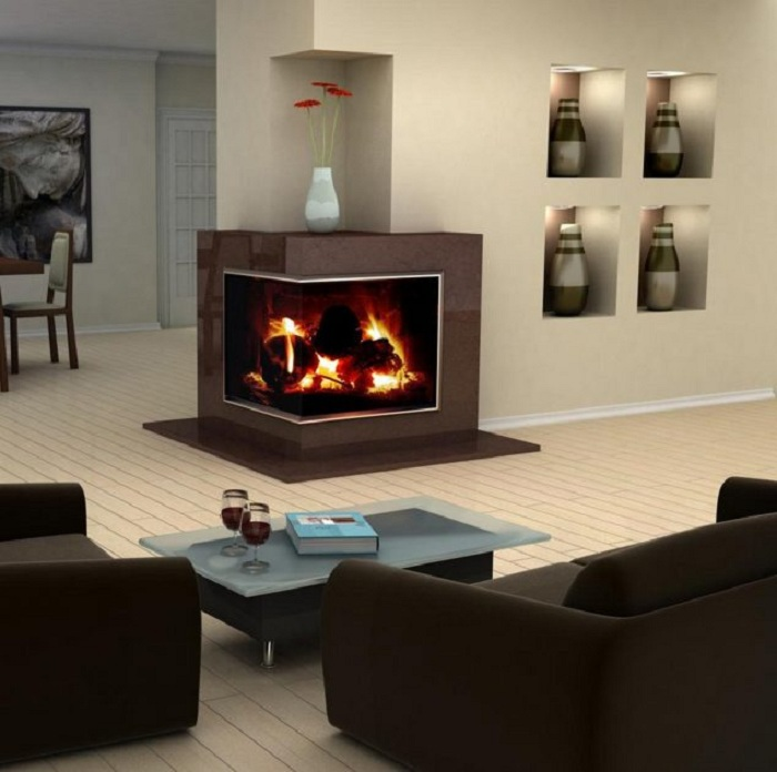 Необычное решение создать отменное настроение в комнате благодаря стремительным и удачным идеям.