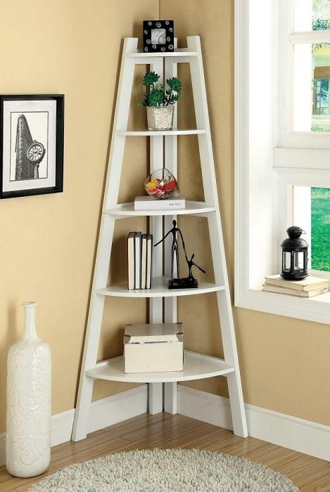 Просто отличное решение создать крутой интерьер в комнате благодаря декорированию нестандартным образом её угла.