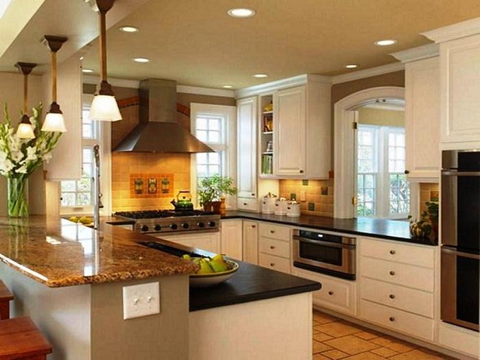 Оформление кухни в светлых и нежных тонах, что точно вдохновит и станет особенным и незабываемым.