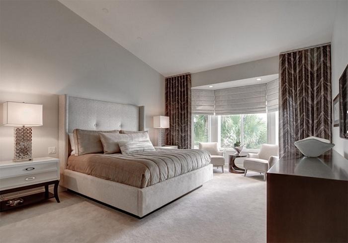 Красивые торшеры, которые подойдут для оформления интерьера любой спальни и станут отличным дополнением места для отдыха.