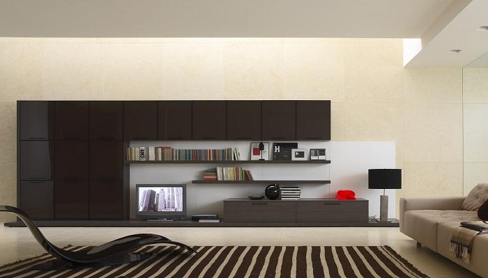 Прямые линии в декорировании различных комнат, просто безупречный вариант в оформлении жилого пространства.