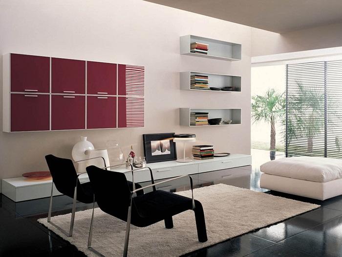 Комната что станет просто находкой и особенным дизайнерским решением в декорировании комнат для принятия гостей.