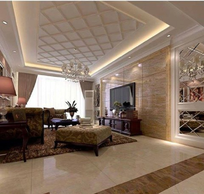 Преобразить интерьер гостиной, возможно при помощи необыкновенно подсветки, что понравится и создаст уютную обстановку.