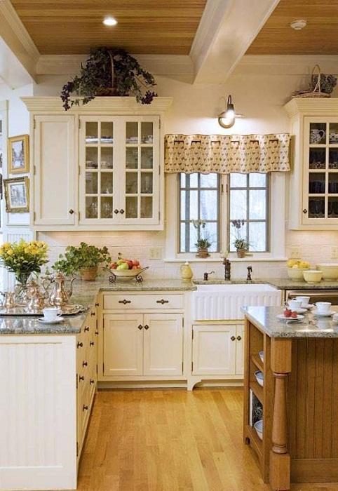 Уютная обстановка на кухне, что станет находкой.