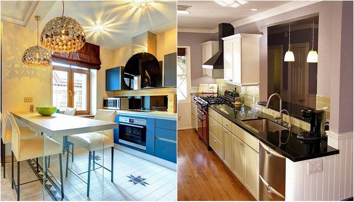 Примеры оформления современных кухонь, что вдохновят.