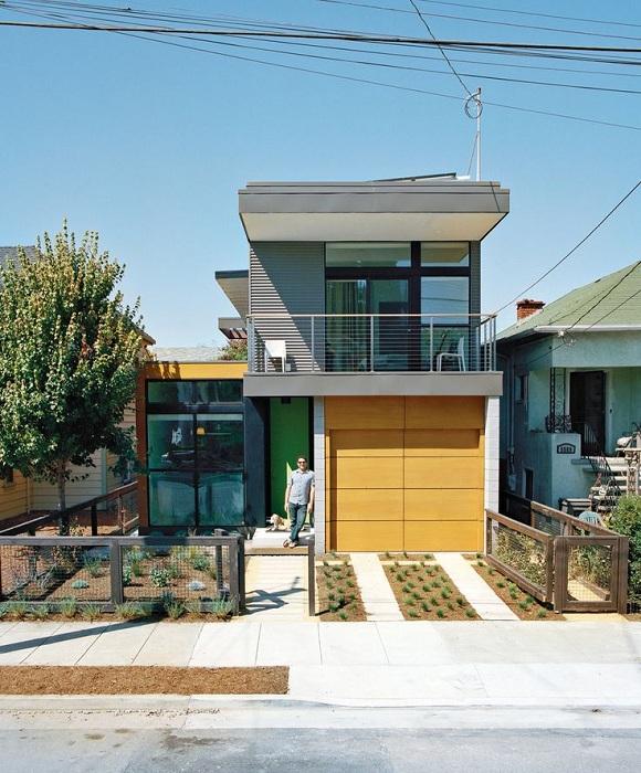 Модульный дом в Эмервилле, Калифорния дом Simpatico Home меняет восприятие модульного сборного дома как по цене так и по внешнему виду.