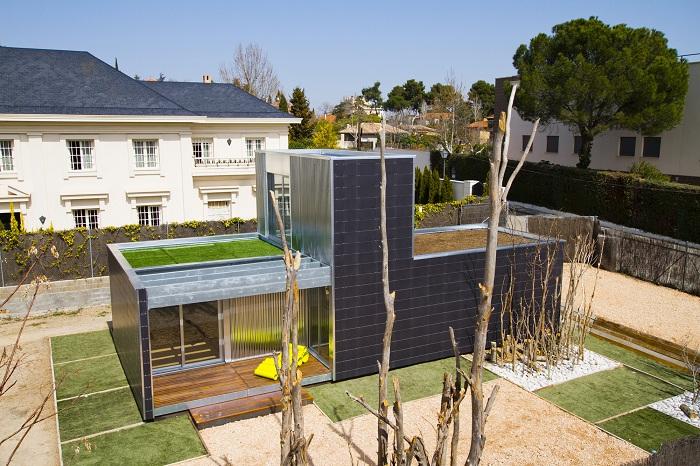 Разработан конструктор домов SAVMS с целью создания экологически чистого жилища из сборных конструкций модульного типа.