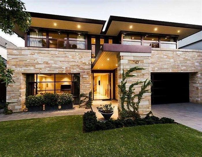 Используя много светильников возможно создать стильный вид такого типа жилья.