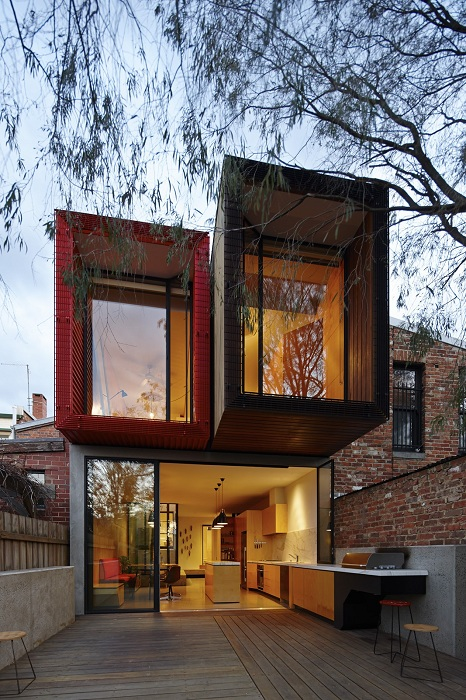 Модульный дом с оптимальным количеством комнат, который придется по душе, находится в Австрии.