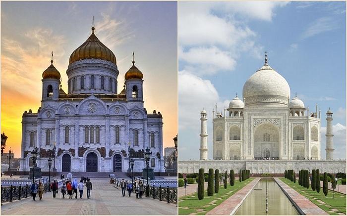 Архитектура которая хранит историю всего мира.