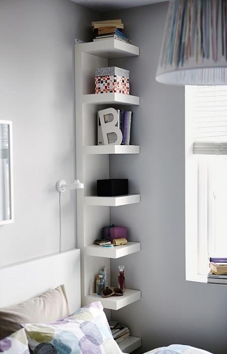 Удачные полочки в комнате, которые трансформируют интерьер и создадут просто прекрасную атмосферу.