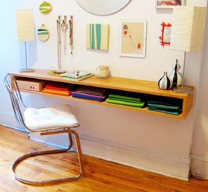 Хороший вариант оформления маленьких и аккуратных пространств что станут просто отличным вариантом для декора.