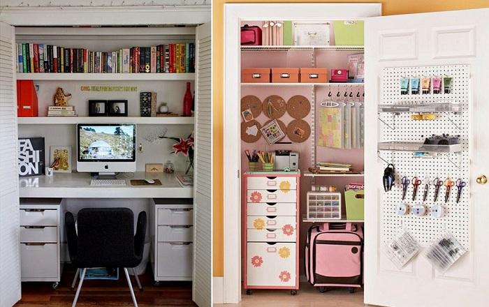 Отменный мини-офис что станет просто очаровательным элементом любого интерьера.