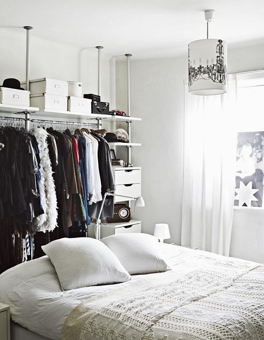 Отличный интерьер спальной, что точно преобразит комнату и подарит массу положительных эмоций.