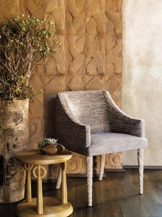 Самый лучший вариант создать красивый молочный стул и украсить им свою гостиную комнату.
