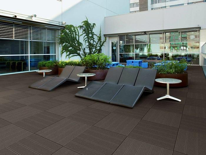 Благоприятная обстановка во дворе станет просто отличным вариантом для его преображения.