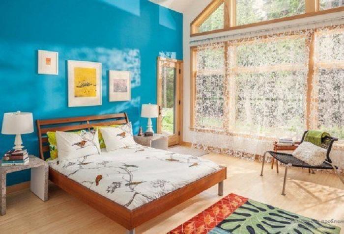 Интересный интерьер комнаты, очень симпатичен и практичен, что позволит создать отличную атмосферу.