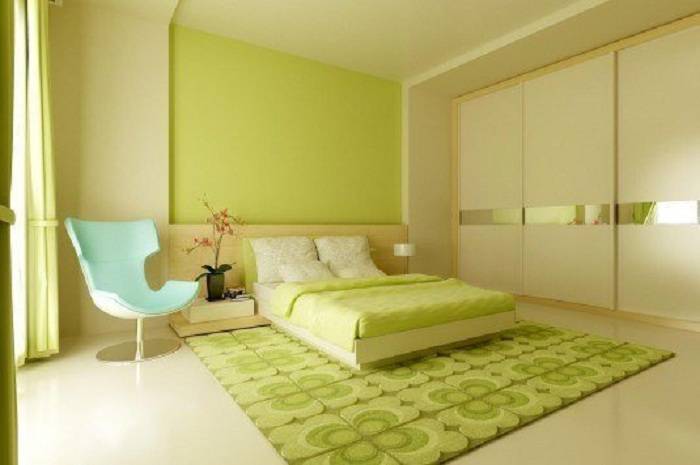 Хорошенький интерьер станет просто отличным вариантом для создания непринужденной обстановки в комнате для отдыха.