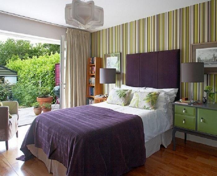 Просто отличный вариант оформления комнаты, который просто пропитан весенним настроением.