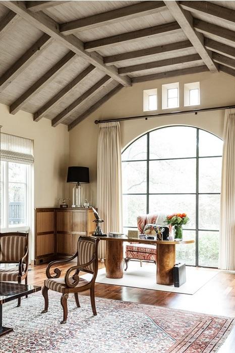 Максимально комфортный и симпатичный офис в доме будет смотреться просто отменно.