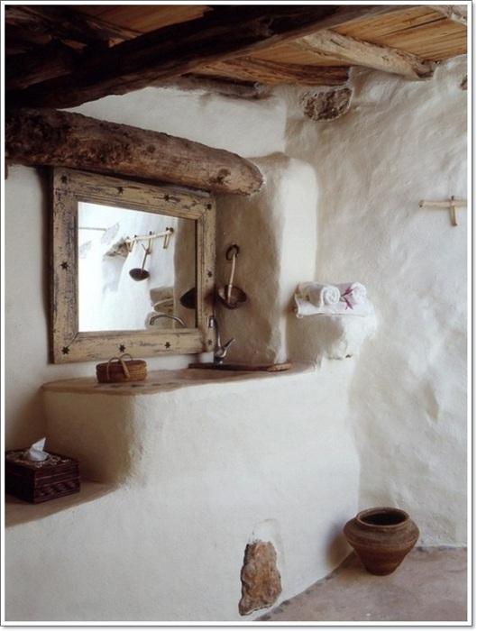 Симпатичная обстановка в ванной комнате станет просто необыкновенной изюминкой в интерьере вашего дома.