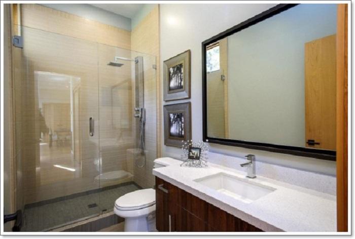Креативное оформление ванной комнаты, которые станут ярким решением в оформлении.