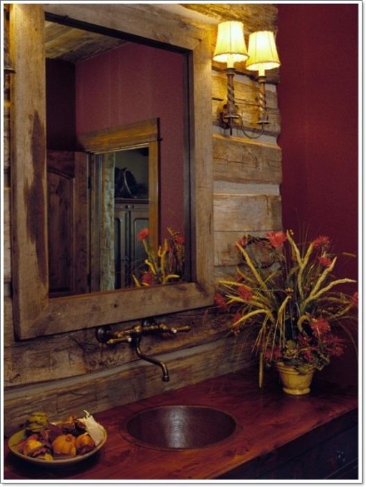 Удачное решение создать максимально уютное пространство именно в ванной комнате, то что станет просто отличным вариантом для декора.