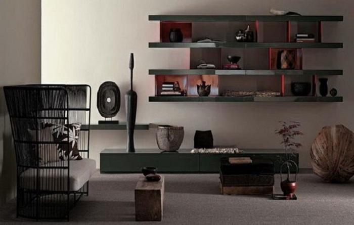 Отменный интерьер гостиной комнаты, что точно подарит массу положительных и отличных эмоций.