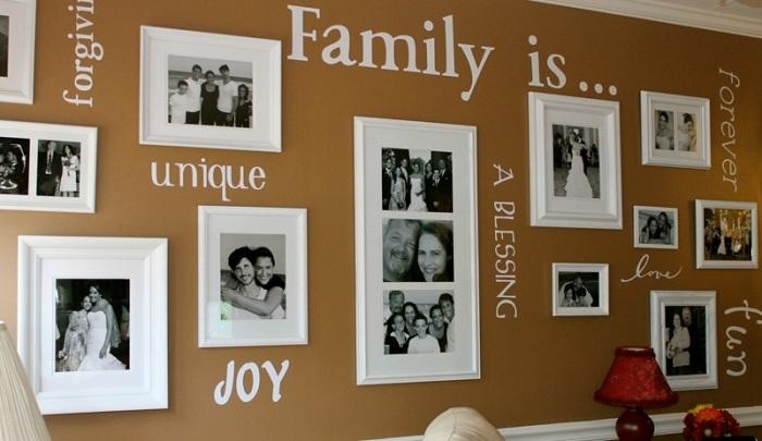 Современное изложение семейной истории.