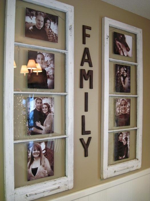 История семьи в бабушкиных окнах