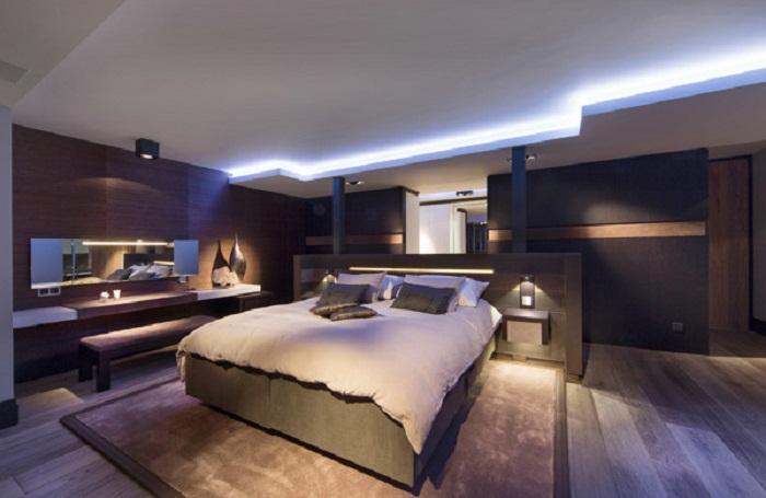 Легкая и прекрасная спальня, что станет просто отличным вариантом исполнения всех фантазий.