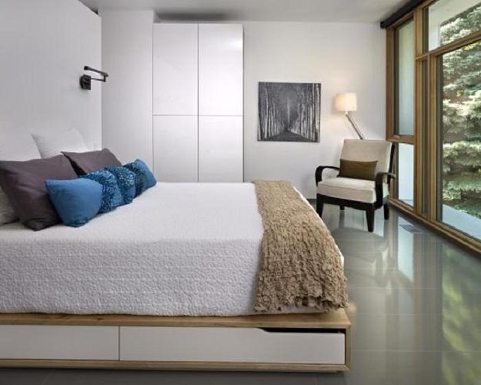 Минимализм в интерьере комнаты, создаст просто отменную обстановку.